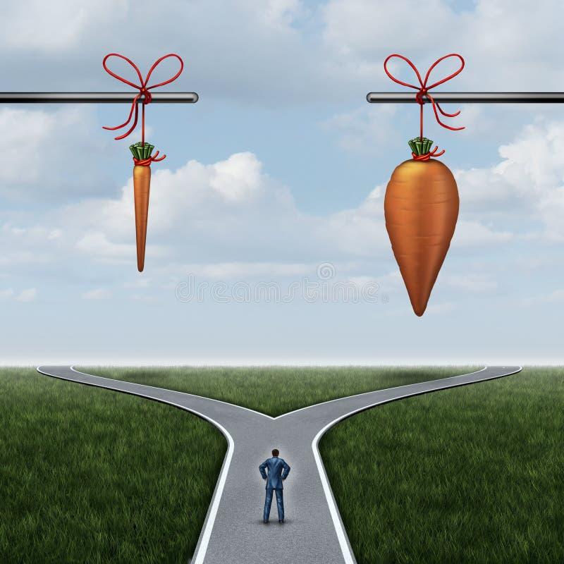 Concepto incentivo stock de ilustración