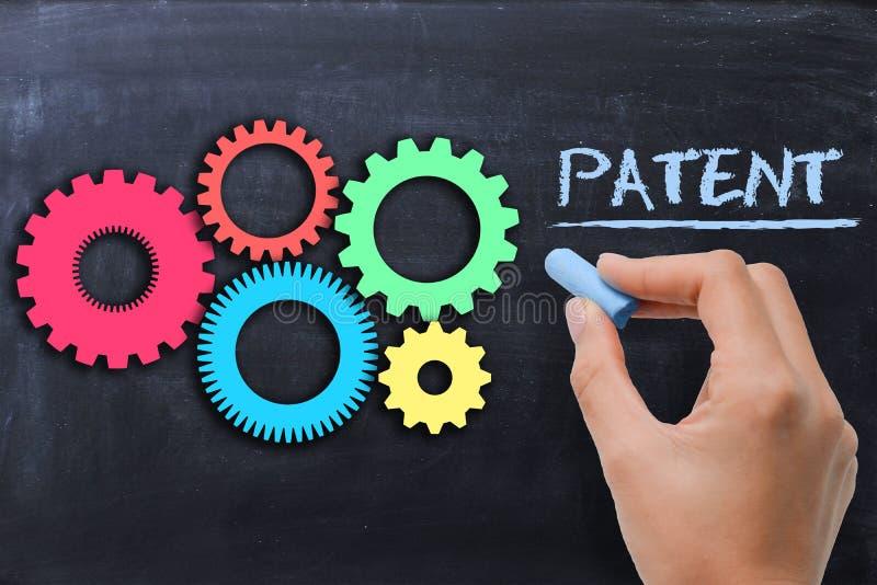 Concepto industrial de la patente fotos de archivo libres de regalías