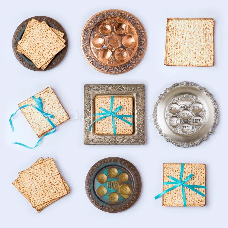 Concepto judío de la pascua judía del día de fiesta fotografía de archivo