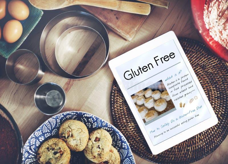 Concepto libre de la enfermedad celiaca del gluten foto de archivo libre de regalías