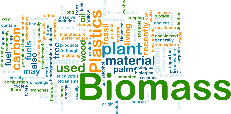 Concepto material del fondo de la biomasa libre illustration
