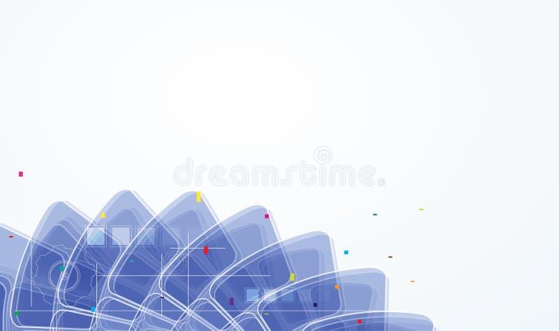 Download Concepto Para El Negocio Corporativo Y El Desarrollo De La Nueva Tecnología Stock de ilustración - Ilustración de comunicación, maquinaria: 41918972