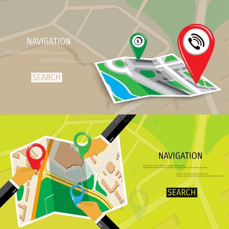 Concepto plano del vector de World Travel y de turismo ilustración del vector