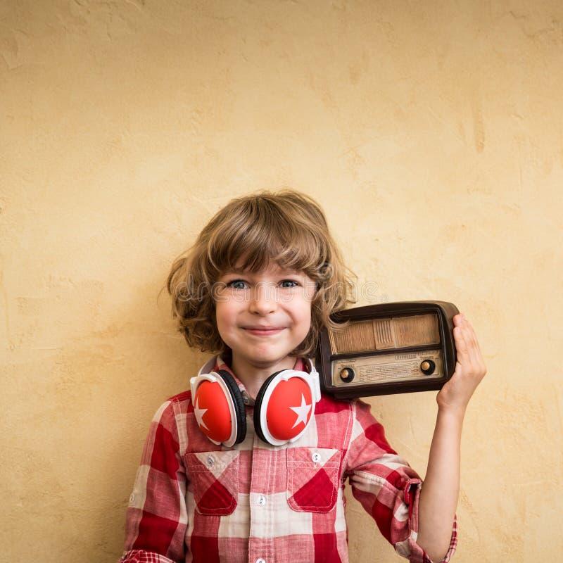 Concepto retro de la música imagen de archivo libre de regalías