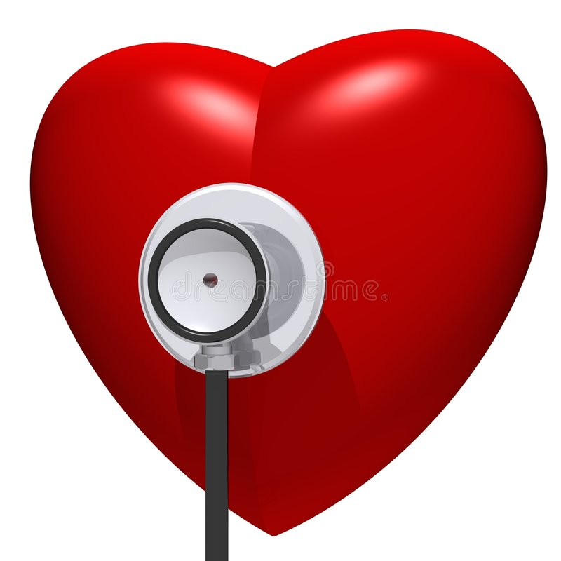 Concepto sano del corazón libre illustration
