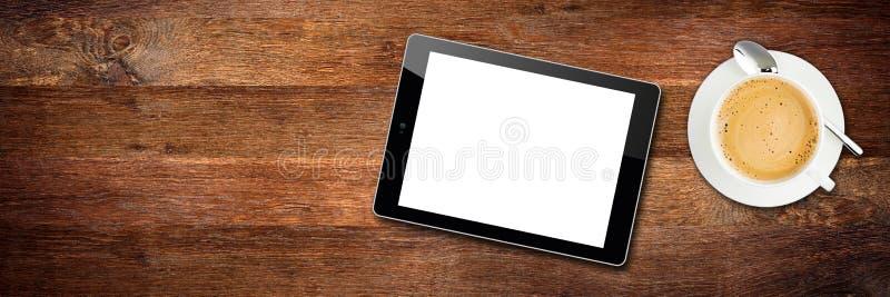 Concepto tablero de escritorio de madera de la rotura de la visión foto de archivo libre de regalías