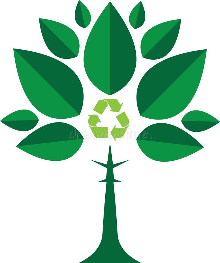 Concepto verde stock de ilustración