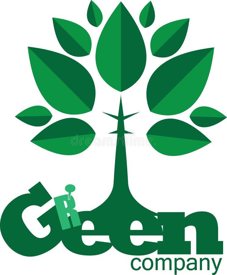 Concepto verde ilustración del vector