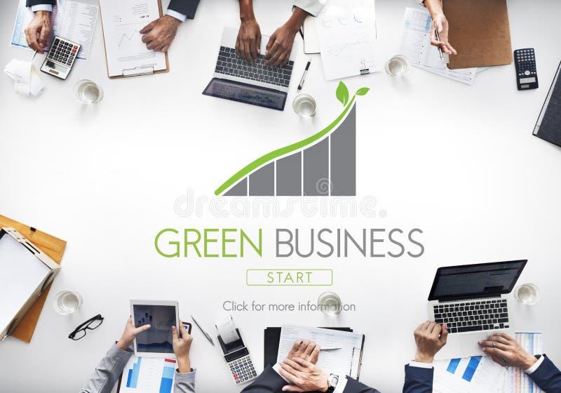 Concepto verde de Eco de la responsabilidad de la protección del negocio fotos de archivo libres de regalías