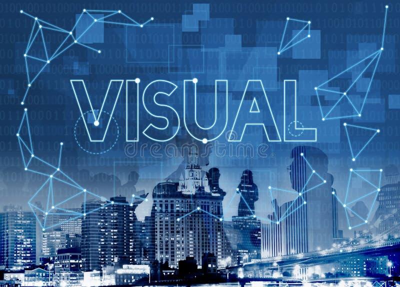 Concepto visual de la visibilidad del pensamiento creativo de la innovación fotos de archivo libres de regalías