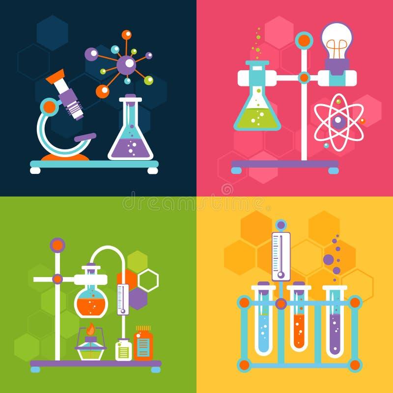 Conceptos de diseño de la química libre illustration
