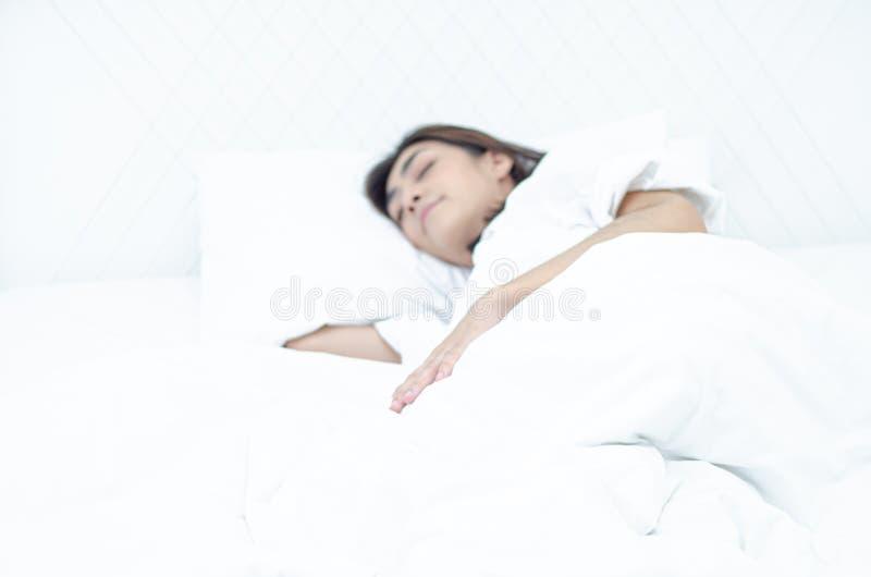 Conceptos de la salud en sueño foto de archivo