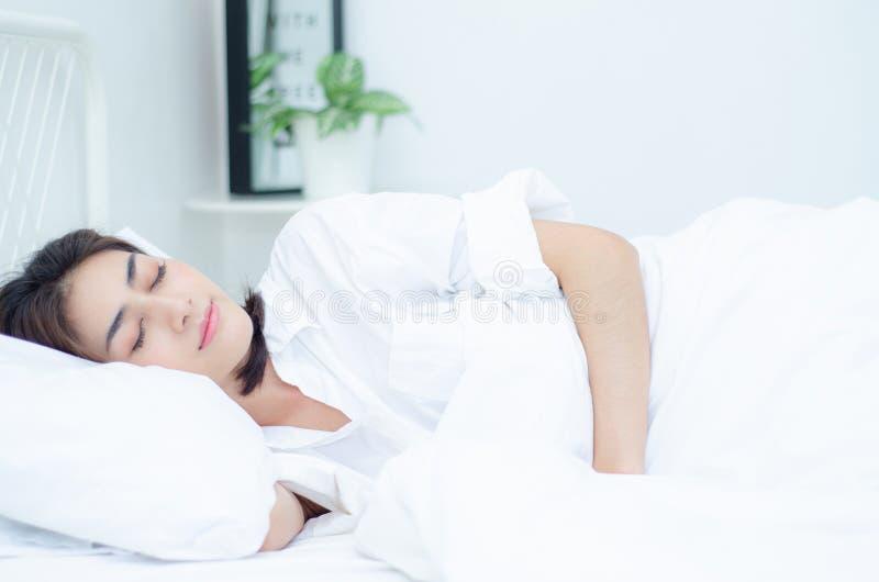 Conceptos de la salud en sueño fotografía de archivo libre de regalías