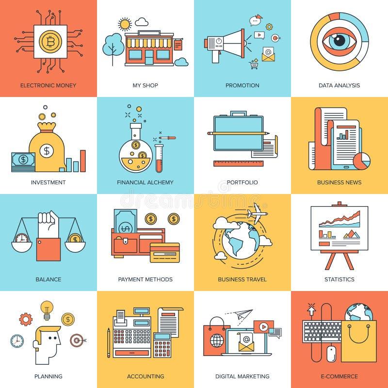 Conceptos del asunto stock de ilustración