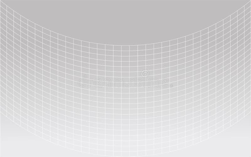 Conceptos modernos de la tecnología del fondo del fondo del modelo de onda y modelos de trabajo rápidos y complejos para la entra ilustración del vector