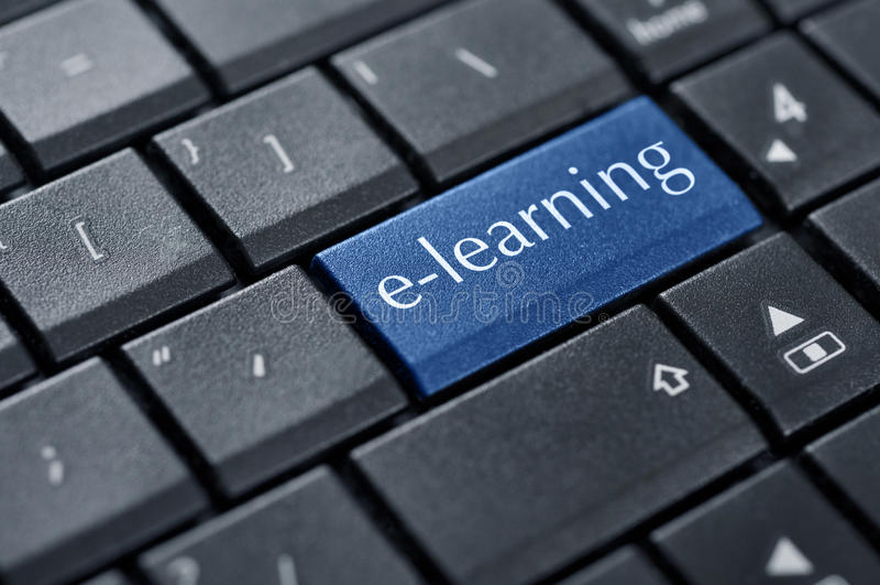 Concepts d'apprentissage sur internet photos libres de droits