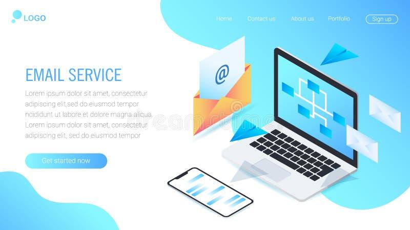 Concepts d'illustration de vecteur pour le site Web et le site Web mobile EPS10 illustration stock