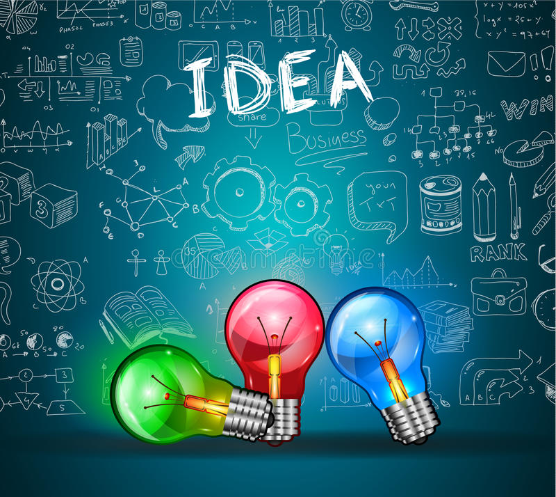 Concepts de construction pour le travail d'équipe et la carrière, gestion financière illustration libre de droits
