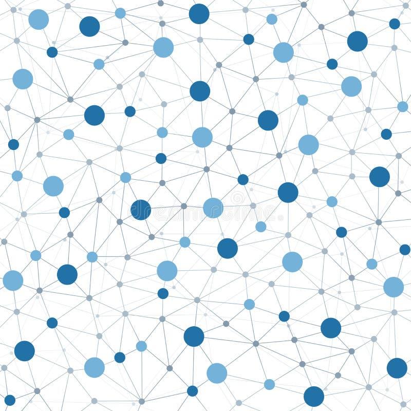 Concepts de réseau illustration libre de droits