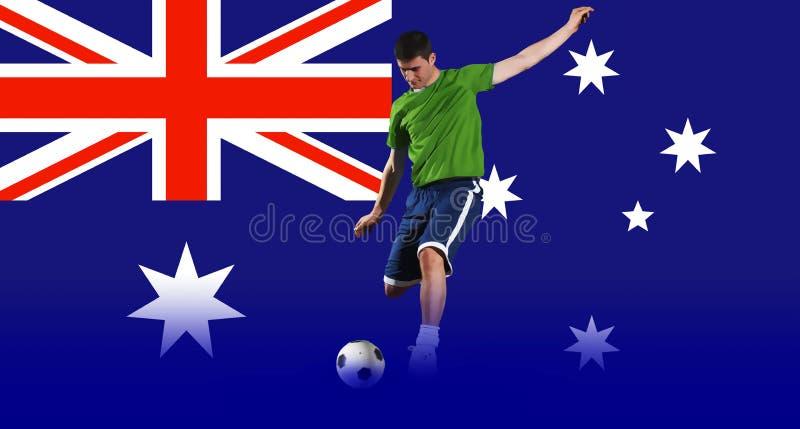 Concepts du football images libres de droits