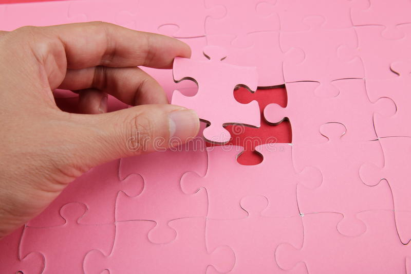Concepts puzzle royalty free stock image