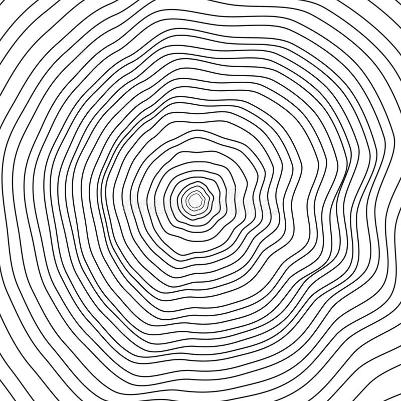 Conceptual background with tree-rings. vector illustration