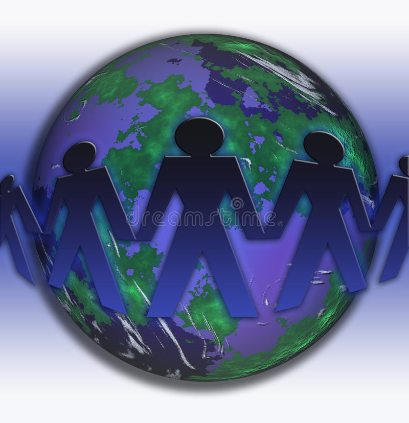 Conceptual business image vector illustration