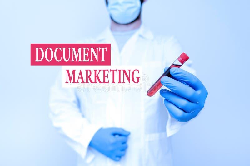Conceptual Caption Document Marketing. Business Showcase ...
