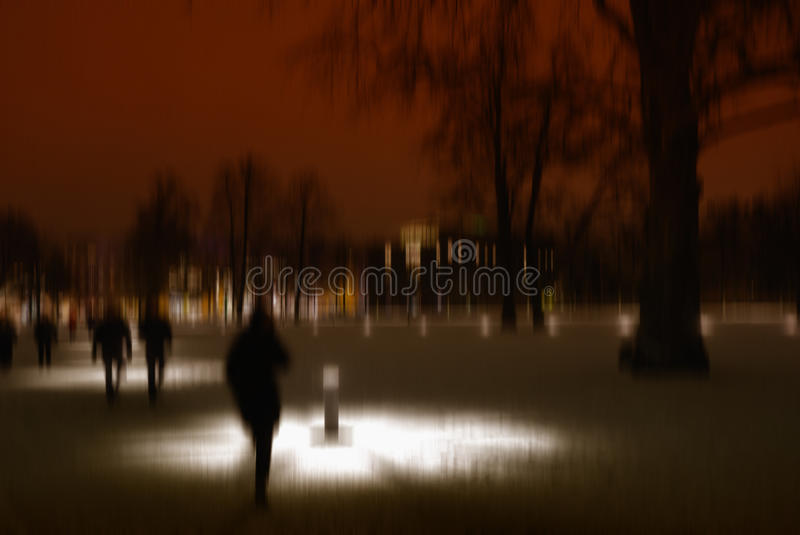 Stormy Night Royalty Free Stock Images