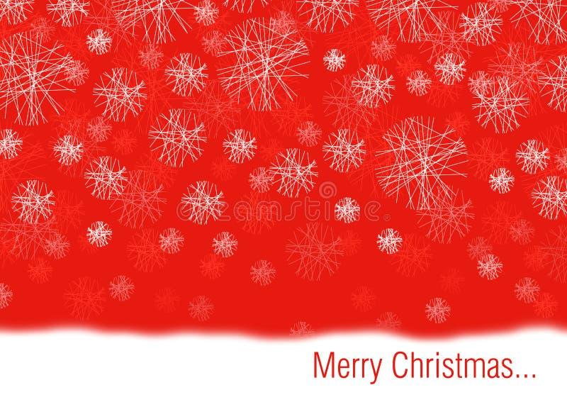 Conceptual Christmas Card Royalty Free Stock Photography