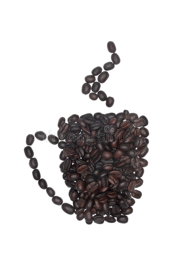 Conceptual coffee drink royalty free stock photography