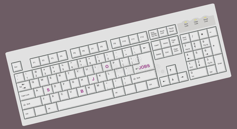 Download Conceptual Computer / PC Keyboard Stock Vector - Image: 10663162