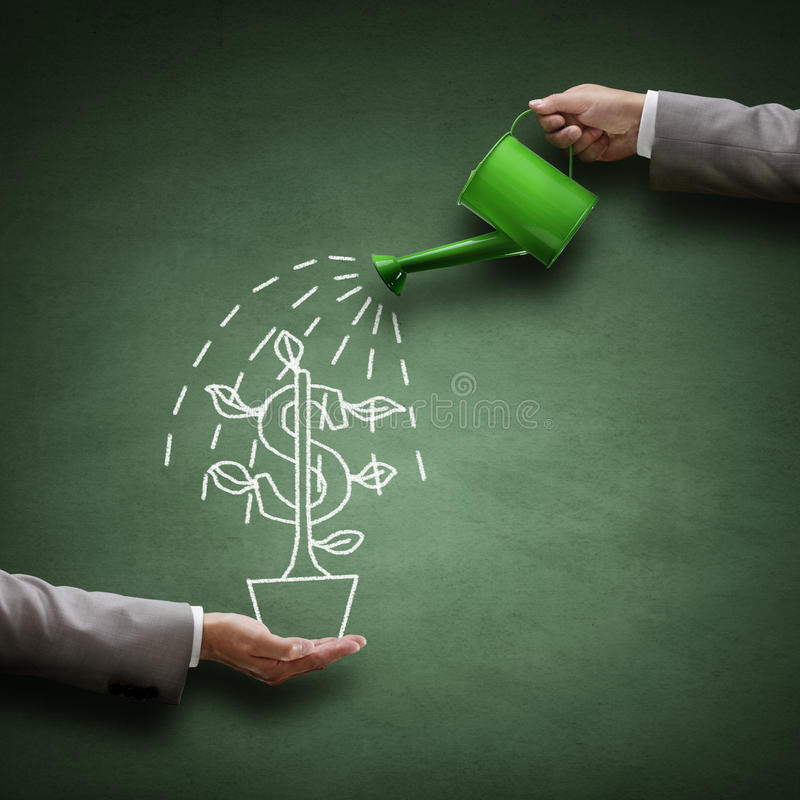 Conceptual financeiro Image foto de stock