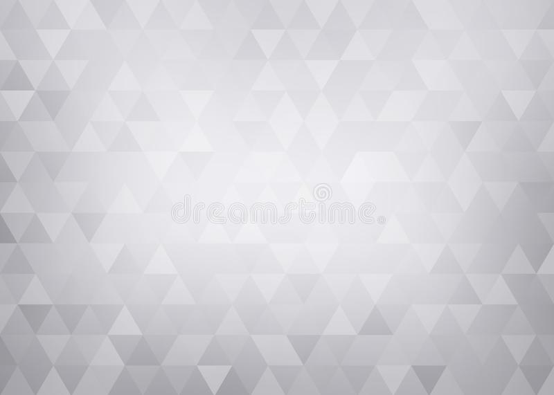 Conceptual geometric background. Light grey abstract pattern. royalty free stock photography