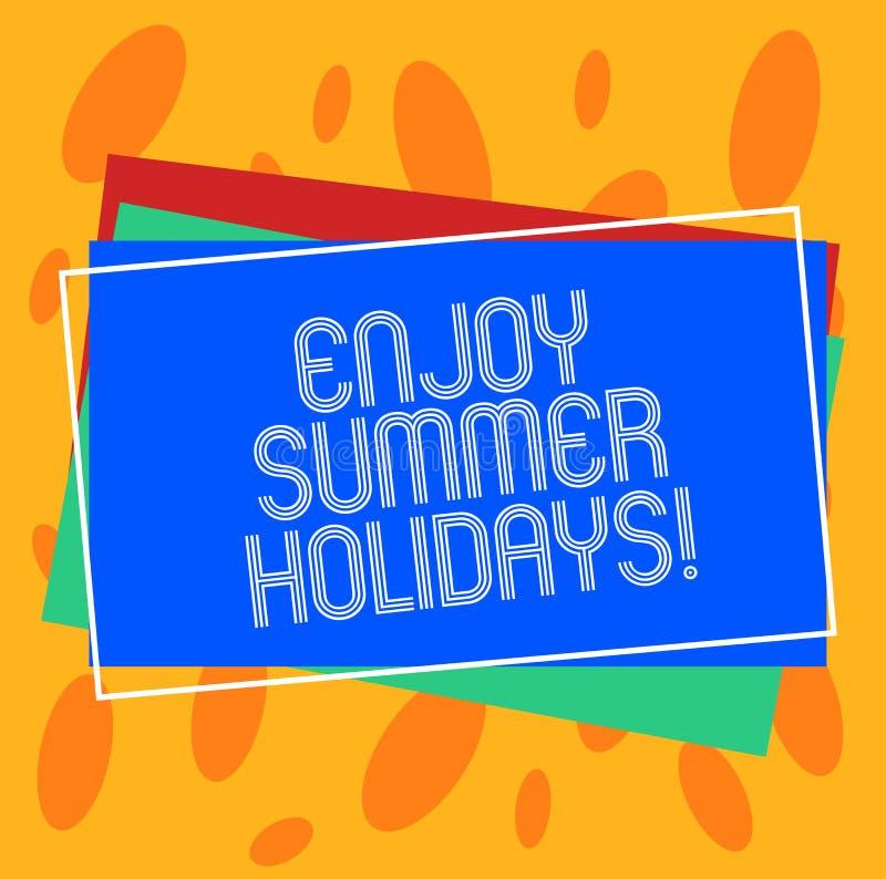 Couple Enjoying Their Summer Holidays Stock Photo: Outlined Holidays And Travels Icon Set Stock Illustration