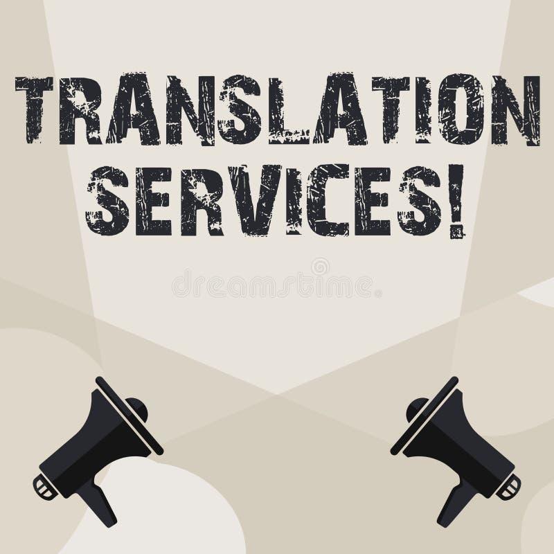 Translation writing service