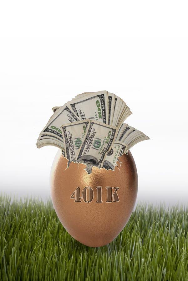 Download 401K retirement nest egg stock image. Image of single - 30173377