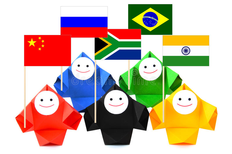 Download Conceptual image of BRICS stock image. Image of flag - 25514699