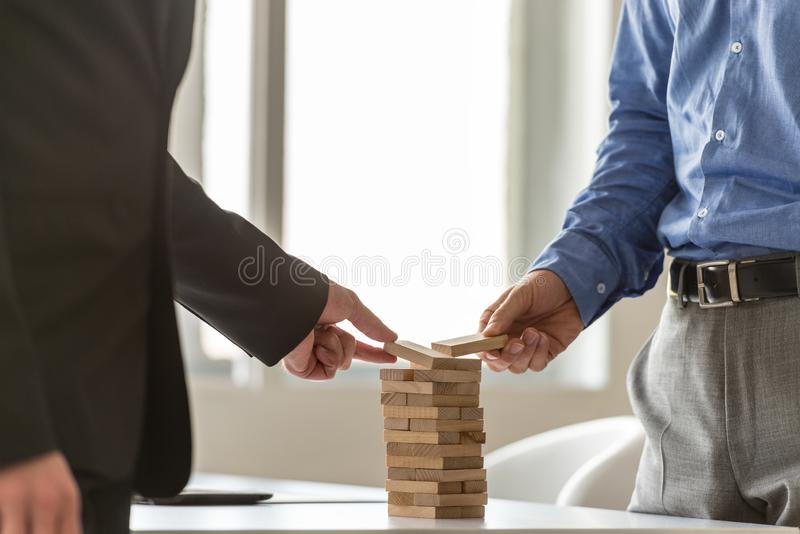 Conceptual image of business teamwork and start up royalty free stock image