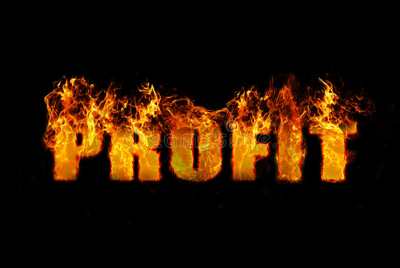 Download Conceptual Image Illustrating The Word Profit Stock Image - Image: 27868901