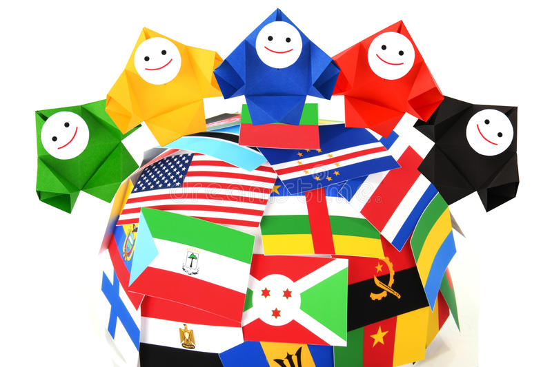 Download Conceptual Image Of International Relations Stock Image - Image: 25514605