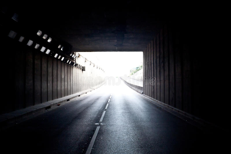 Download Conceptual Image Of The Light Outside The Tunnel Stock Image - Image: 23781049