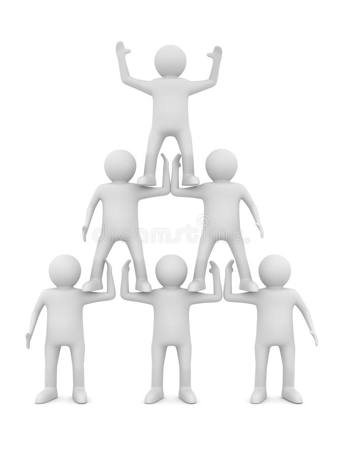 Download Conceptual Image Of Teamwork Stock Illustration - Image: 21852303