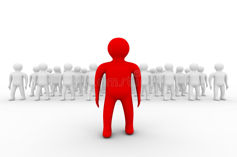 Download Conceptual Image Of Teamwork. Stock Illustration - Image: 8560656
