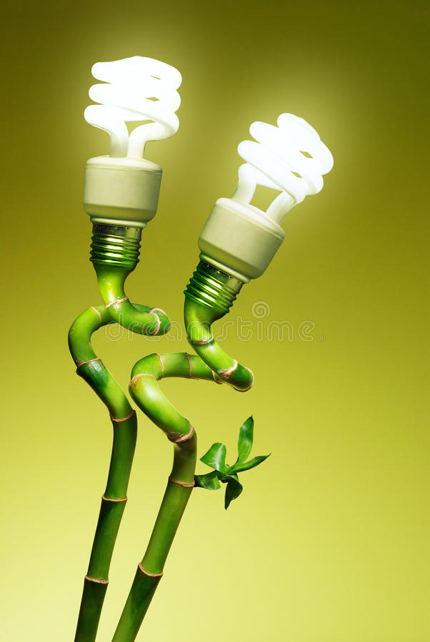 Conceptual lamps royalty free stock image