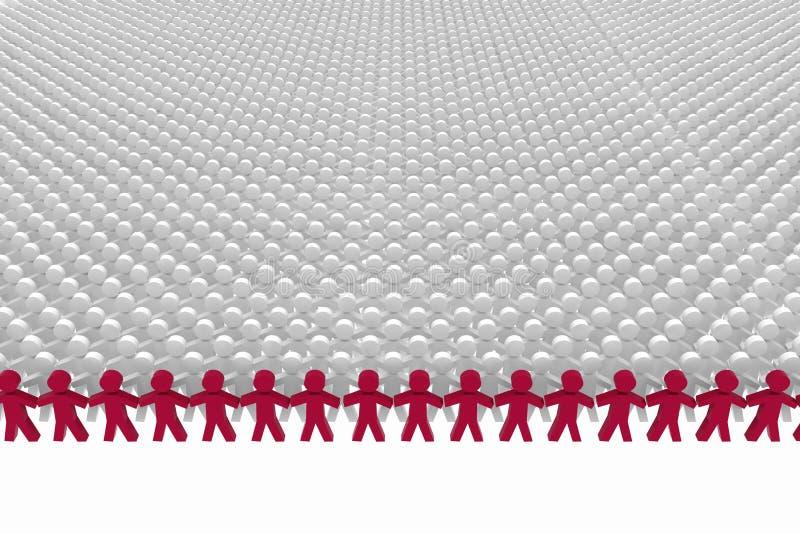 Download Conceptual Leadership Concept. Stock Illustration - Illustration of equality, businessman: 32251243