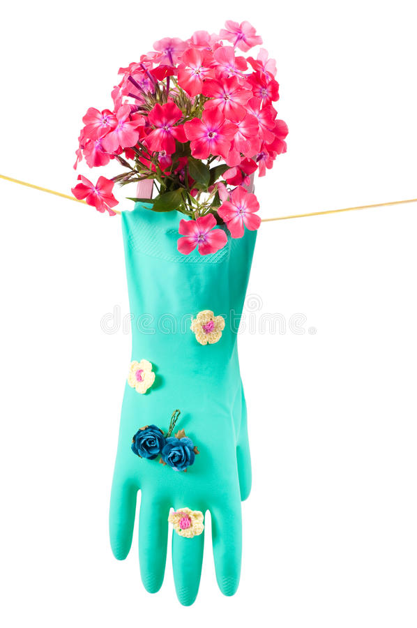 Download Conceptual Photo With Gloves Stock Photo - Image: 16017292