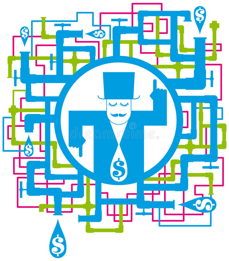 Download Conceptual Picture Save The Water Stock Vector - Illustration: 18541253