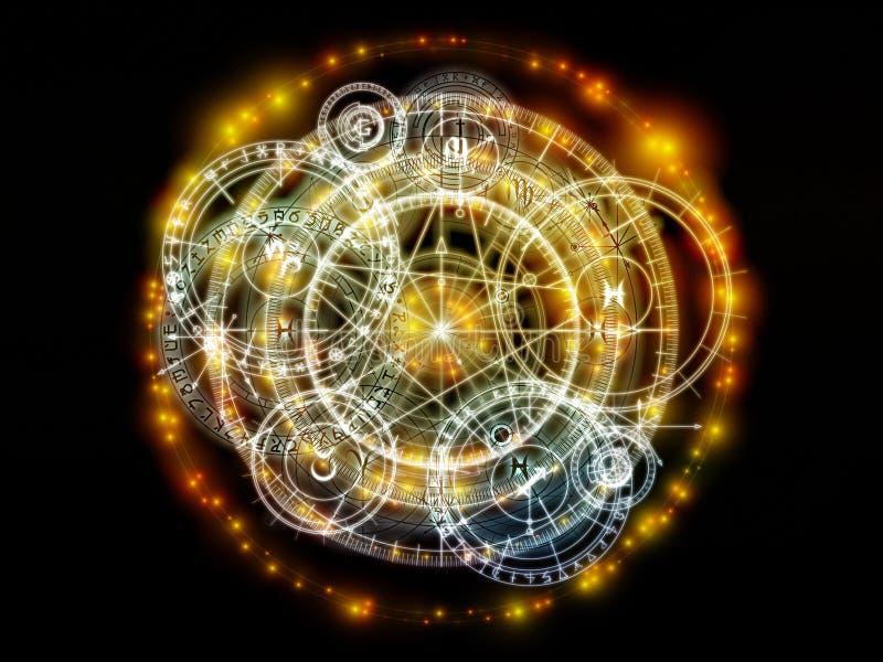 Conceptual Sacred Geometry vector illustration