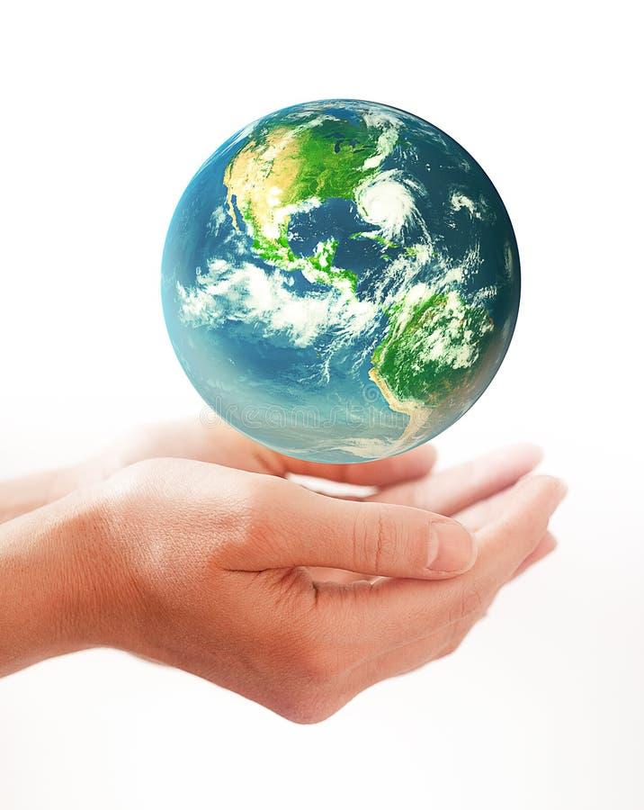 conceptueel beeld van de aardedag stock illustratie
